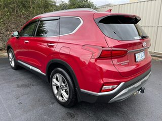 2018 Hyundai Santa Fe TM MY19 Highlander Red/Black 8 Speed Sports Automatic Wagon