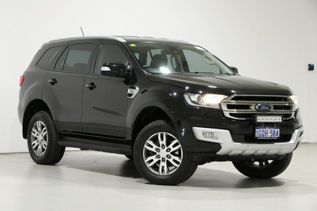 Used Ford Everest UA MY17.5 Trend (4WD) Bentley, 2017 Ford Everest UA MY17.5 Trend (4WD) Black 6 Speed Automatic SUV