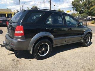 2006 Kia Sorento BL MY07 EX Black 5 Speed Sports Automatic Wagon.