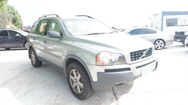 Used Volvo XC90 P28 MY06 Lifestyle T St James, 2006 Volvo XC90 P28 MY06 Lifestyle T Green 5 Speed Sports Automatic Wagon