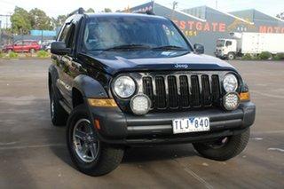 2005 Jeep Cherokee KJ MY05 Upgrade Renegade (4x4) 4 Speed Automatic Wagon.
