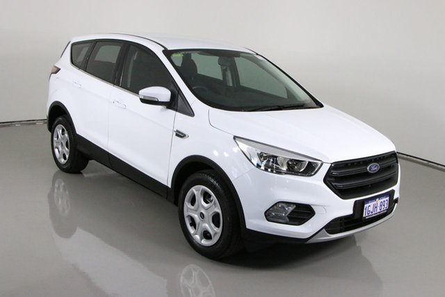 Used Ford Escape ZG Ambiente (FWD) Bentley, 2017 Ford Escape ZG Ambiente (FWD) White 6 Speed Automatic SUV