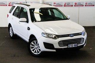 2015 Ford Territory SZ MK2 TX (RWD) White 6 Speed Automatic Wagon.