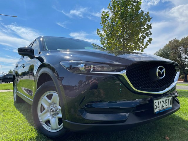 Used Mazda CX-5 KE1072 Maxx SKYACTIV-MT FWD Hindmarsh, 2017 Mazda CX-5 KE1072 Maxx SKYACTIV-MT FWD Black 6 Speed Manual Wagon