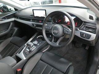 2016 Audi A4 B9 8W MY16 Sport S Tronic White 7 Speed Sports Automatic Dual Clutch Sedan