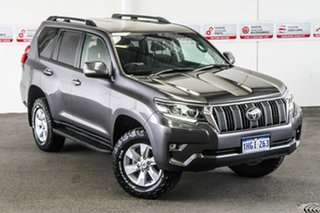 2017 Toyota Landcruiser Prado GDJ150R MY17 GXL (4x4) Graphite 6 Speed Automatic Wagon.