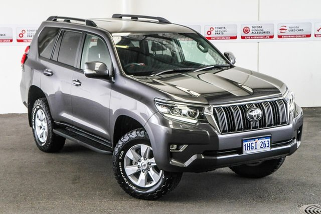 Pre-Owned Toyota Landcruiser Prado GDJ150R MY17 GXL (4x4) Myaree, 2017 Toyota Landcruiser Prado GDJ150R MY17 GXL (4x4) Graphite 6 Speed Automatic Wagon