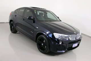 2016 BMW X4 F26 MY16 xDrive 35I Blue 8 Speed Automatic Coupe