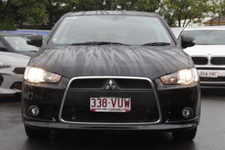 2014 Mitsubishi Lancer CJ MY15 GSR Sportback Black 5 Speed Manual Hatchback.