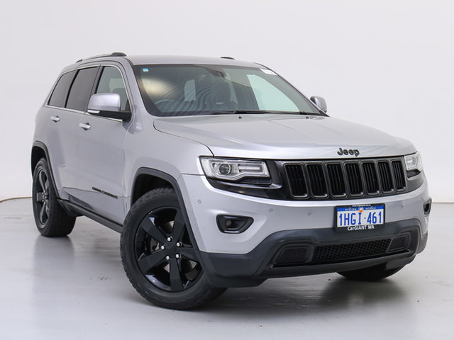 Used Jeep Grand Cherokee WK MY14 Limited (4x4), 2014 Jeep Grand Cherokee WK MY14 Limited (4x4) Grey 8 Speed Automatic Wagon