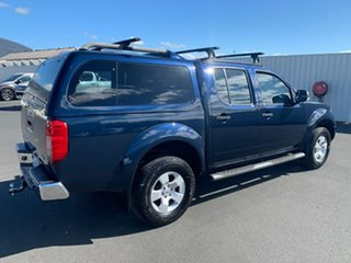 2008 Nissan Navara D40 ST-X Blue 6 Speed Manual Utility.