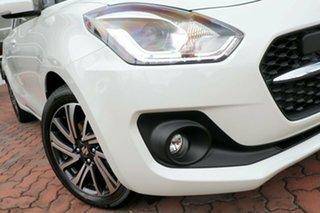 2020 Suzuki Swift AZ Series II GLX Turbo Pure White Pearl 6 Speed Sports Automatic Hatchback.