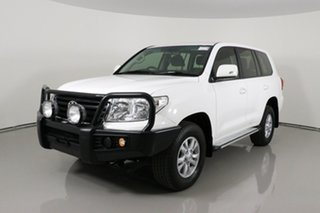 2013 Toyota Landcruiser VDJ200R MY13 GXL (4x4) White 6 Speed Automatic Wagon.