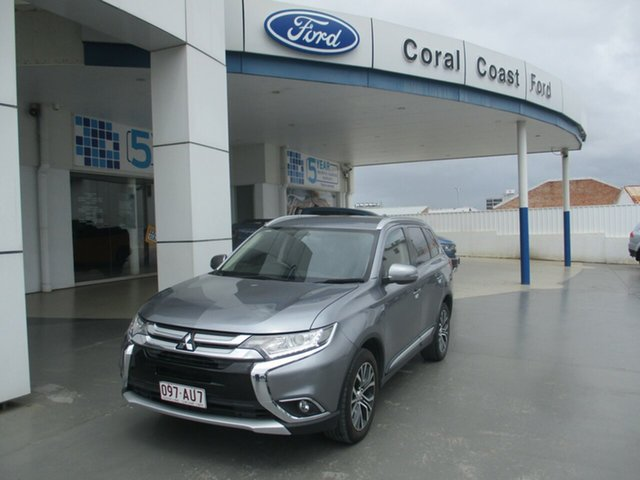 Used Mitsubishi Outlander ZK MY17 LS (4x4) Bundaberg, 2017 Mitsubishi Outlander ZK MY17 LS (4x4) Grey Continuous Variable Wagon