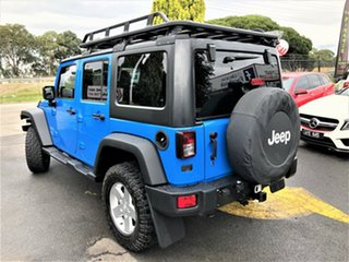 2012 Jeep Wrangler JK MY2012 Unlimited Sport Blue 5 Speed Automatic Softtop