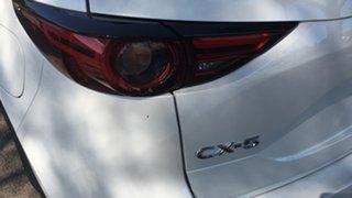 2021 Mazda CX-5 KF2W7A Maxx SKYACTIV-Drive FWD Sport White Pearl 6 Speed Sports Automatic Wagon