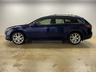 2009 Mazda 6 GH Classic Blue 5 Speed Auto Activematic Wagon