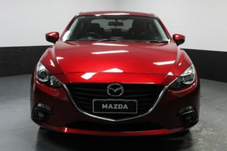 2016 Mazda 3 BM5238 SP25 SKYACTIV-Drive Red 6 Speed Sports Automatic Sedan.