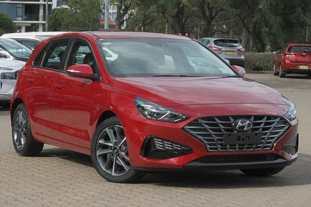 New Hyundai i30 Wangaratta, 2020 Hyundai i30 Fiery Red 6 Speed Automatic i-30 (PD) 5-DOOR