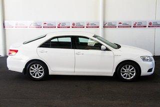 2009 Toyota Aurion GSV40R 09 Upgrade AT-X Diamond White 6 Speed Auto Sequential Sedan