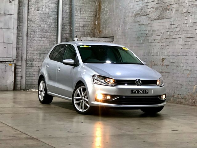 Used Volkswagen Polo 6R MY16 81TSI DSG Comfortline Mile End South, 2016 Volkswagen Polo 6R MY16 81TSI DSG Comfortline Silver 7 Speed Sports Automatic Dual Clutch