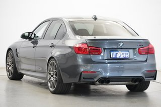2016 BMW M3 F80 LCI Competition M-DCT Grey 7 Speed Sports Automatic Dual Clutch Sedan