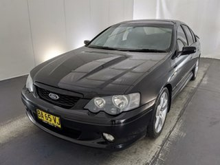 2005 Ford Falcon BA Mk II XR8 Black 4 Speed Sports Automatic Sedan.