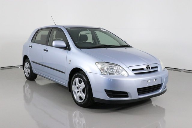Used Toyota Corolla ZZE122R Ascent Bentley, 2005 Toyota Corolla ZZE122R Ascent Blue 4 Speed Automatic Sedan