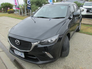 2017 Mazda CX-3 DK2W7A Maxx SKYACTIV-Drive Black 6 Speed Sports Automatic Wagon