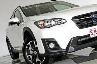 2017 Subaru XV MY18 2.0I-L White Continuous Variable Wagon.
