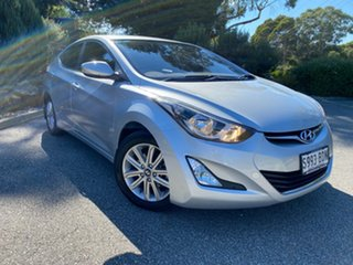 2014 Hyundai Elantra MD3 Trophy Sleek Silver 6 Speed Sports Automatic Sedan.