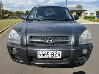 2007 Hyundai Tucson MY07 City SX Grey 4 Speed Automatic Wagon