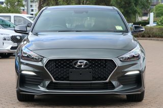 2021 Hyundai i30 PD.V4 MY21 N Line D-CT Amazon Gray 7 Speed Sports Automatic Dual Clutch Hatchback