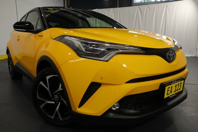 Used Toyota C-HR NGX50R Koba S-CVT AWD Castle Hill, 2018 Toyota C-HR NGX50R Koba S-CVT AWD Yellow 7 Speed Constant Variable Wagon