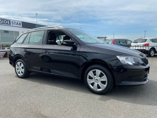 2017 Skoda Fabia NJ 81TSI Black Sports Automatic Dual Clutch Wagon