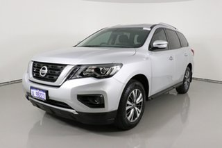 2018 Nissan Pathfinder R52 MY17 Series 2 ST (4x2) Silver Continuous Variable Wagon.