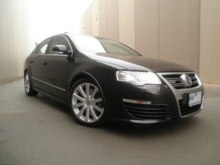 2008 Volkswagen Passat Type 3C MY09 R36 DSG 4MOTION Blue & Black Metallic 6 Speed.