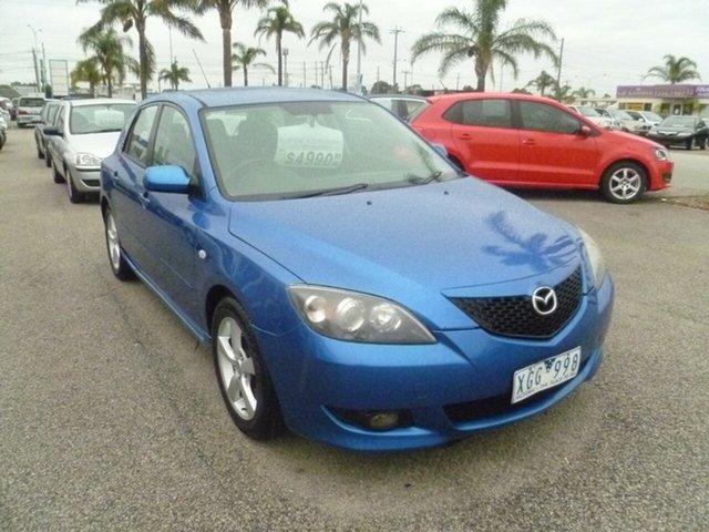 Used Mazda 3 BK10F1 Maxx Sport Moorabbin, 2004 Mazda 3 BK10F1 Maxx Sport Blue 4 Speed Sports Automatic Hatchback
