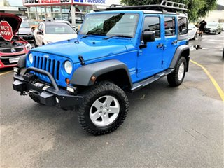 2012 Jeep Wrangler JK MY2012 Unlimited Sport Blue 5 Speed Automatic Softtop.