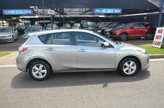 2013 Mazda 3 BM Neo Silver 6 Speed Automatic Hatchback.