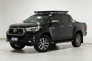 2019 Toyota Hilux GUN126R MY19 SR5 (4x4) Black 6 Speed Automatic Double Cab Pick Up.
