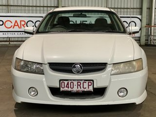 2007 Holden Ute VZ MY06 SV6 White 5 Speed Automatic Utility