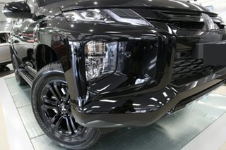 2021 Mitsubishi Triton MR MY21 GSR Double Cab Pitch Black 6 Speed Sports Automatic Utility.