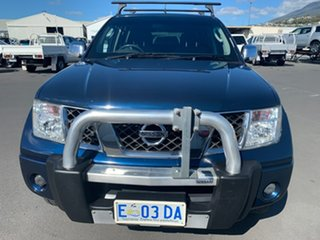2008 Nissan Navara D40 ST-X Blue 6 Speed Manual Utility