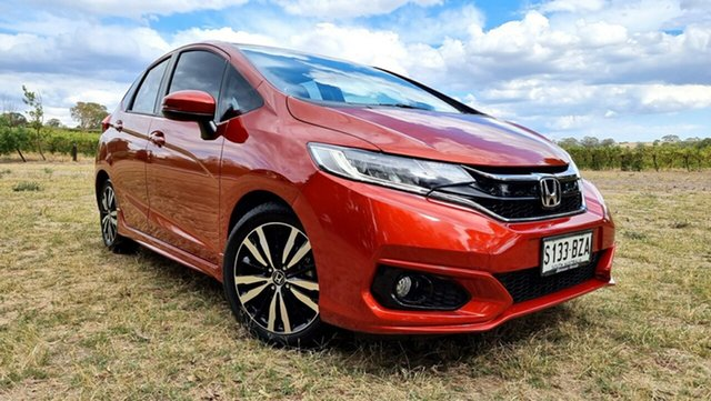 Used Honda Jazz GF MY19 VTi-L Nuriootpa, 2019 Honda Jazz GF MY19 VTi-L Phoenix Orange/grey 1 Speed Constant Variable Hatchback