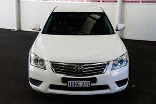 2009 Toyota Aurion GSV40R 09 Upgrade AT-X Diamond White 6 Speed Auto Sequential Sedan.