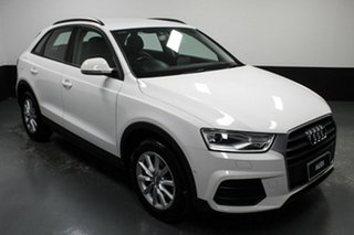 2015 Audi Q3 8U MY14 TFSI S Tronic White 6 Speed Sports Automatic Dual Clutch Wagon.