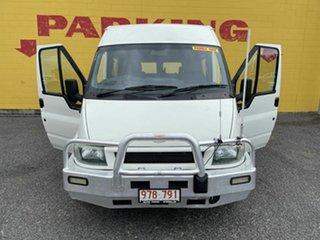 2003 Ford Transit White 5 Speed Manual Van.