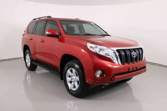 Used Toyota Landcruiser Prado GDJ150R MY16 GXL (4x4) Bentley, 2015 Toyota Landcruiser Prado GDJ150R MY16 GXL (4x4) Red 6 Speed Automatic Wagon