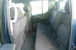 2008 Nissan Navara D40 ST-X 4x2 Blue 6 Speed Manual Utility